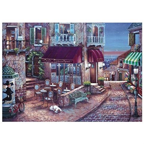 Anatolian Puzzle Anatolian 1500 Parça Puzzle Romantik Cafe Renkli